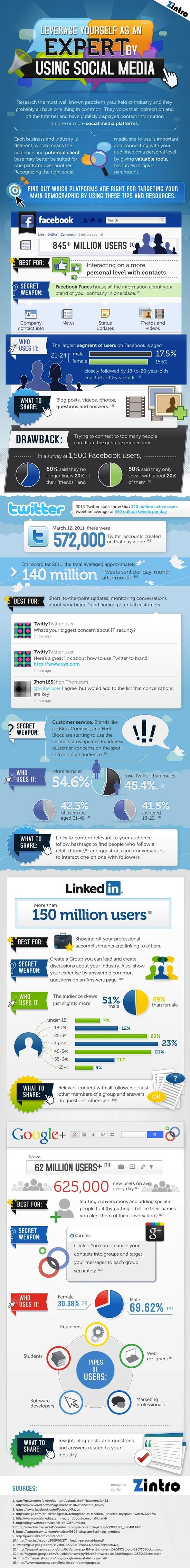 infographic social media 2013